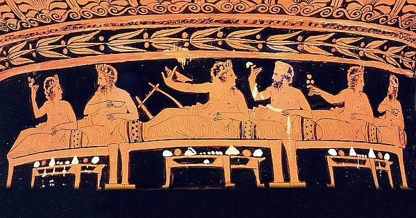 The art of living well for Ancient greek cuisine history